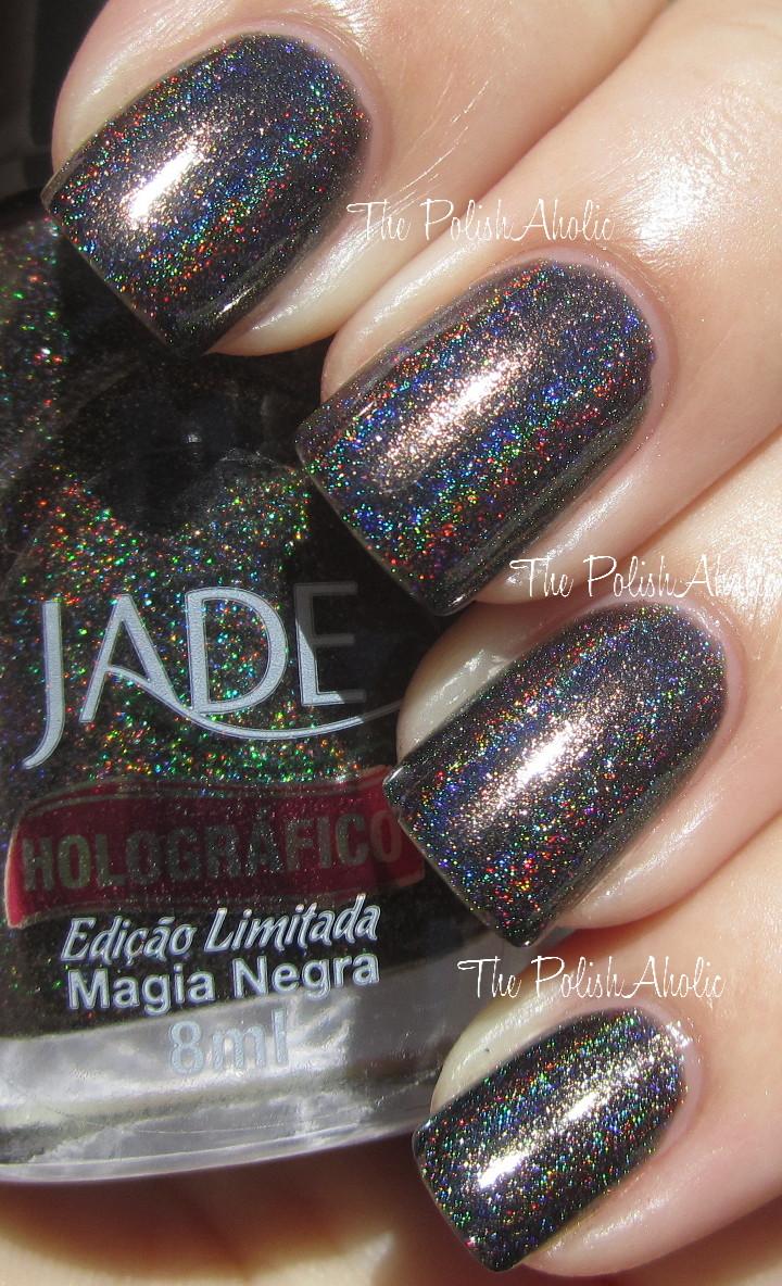 The PolishAholic: Jade Holographics!