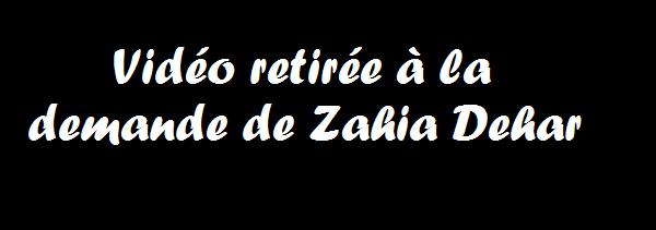 Zahia fesses string danse sexy video