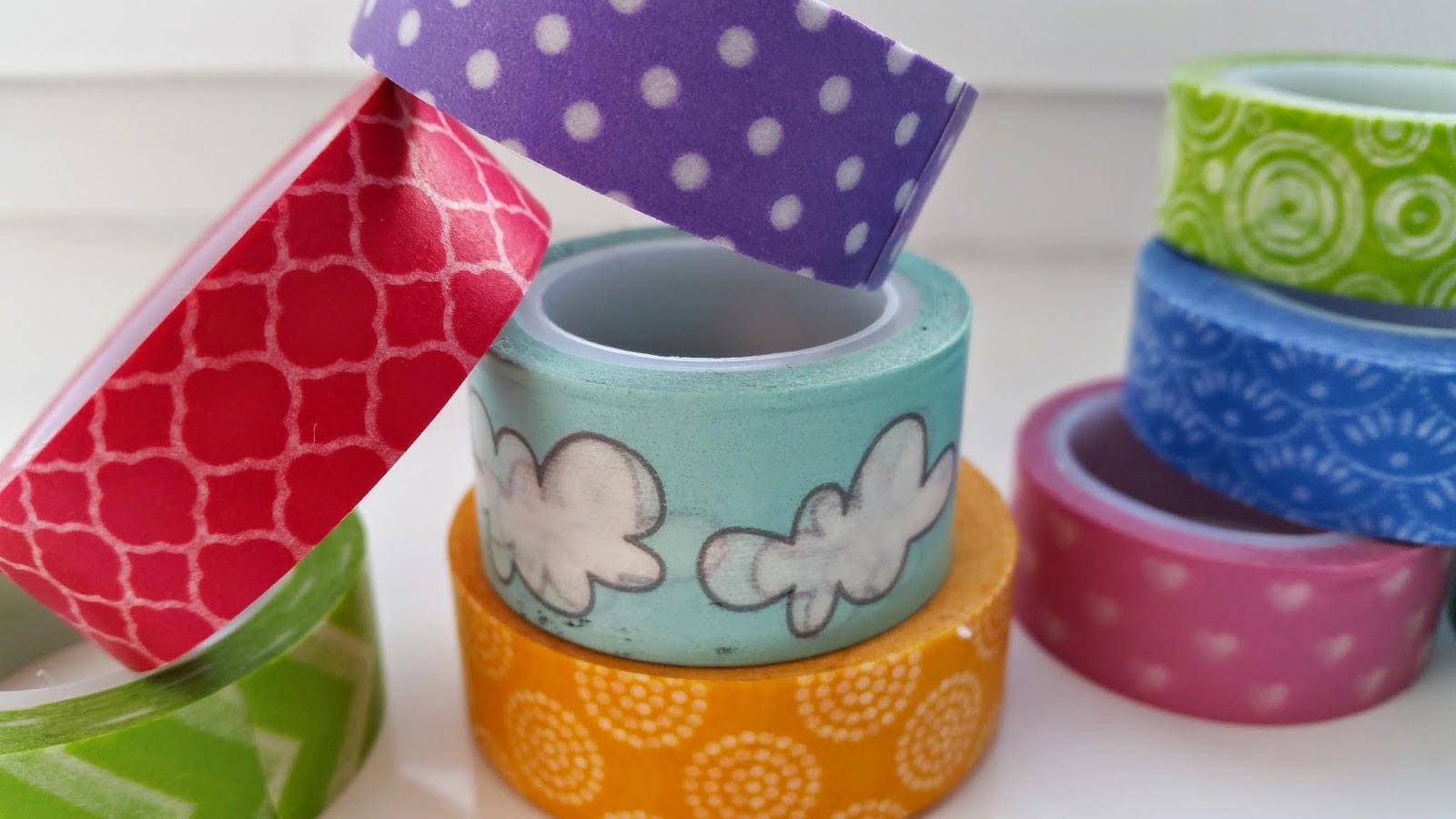 dekoracyjna taśma washi, washi tape