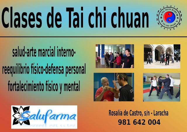 Salufarma tai chi chuan medicina alternativa para for Piscina laracha