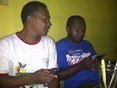 ketua pwi Aru Yos Sudarso labok dan Ketua Mmc maluku Stevano Lilingrer