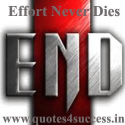 Effort Never Dies