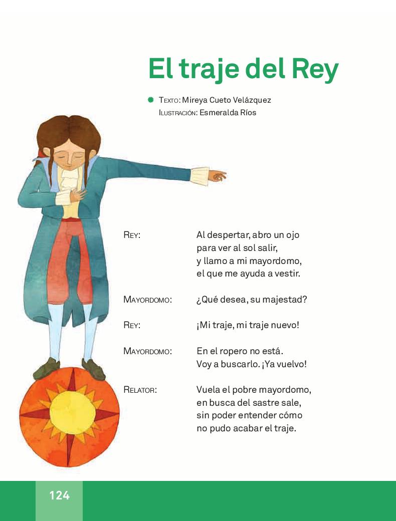 El traje del Rey - Español Lecturas 3ro 2014-2015