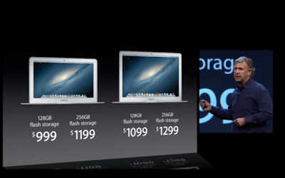 the new 2013 macbook air price