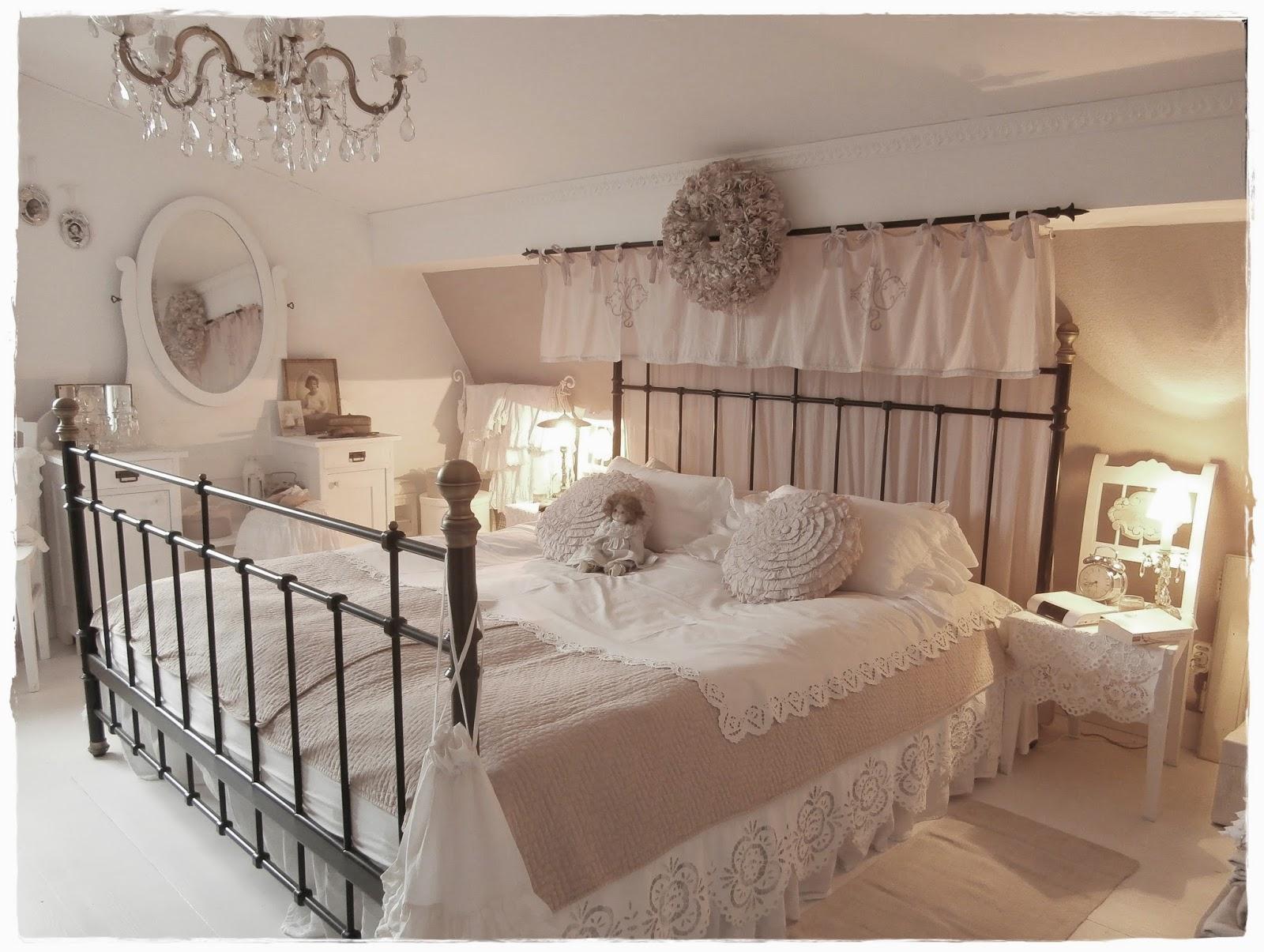 Shabby Landhaus Der Rest Vom Schlafzimmer