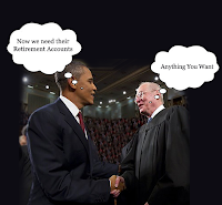 Warning - Obama Confiscates IRA's/401k's; New Senate Bill Nationalizes IRA's