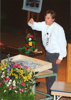Dawkins and flowers