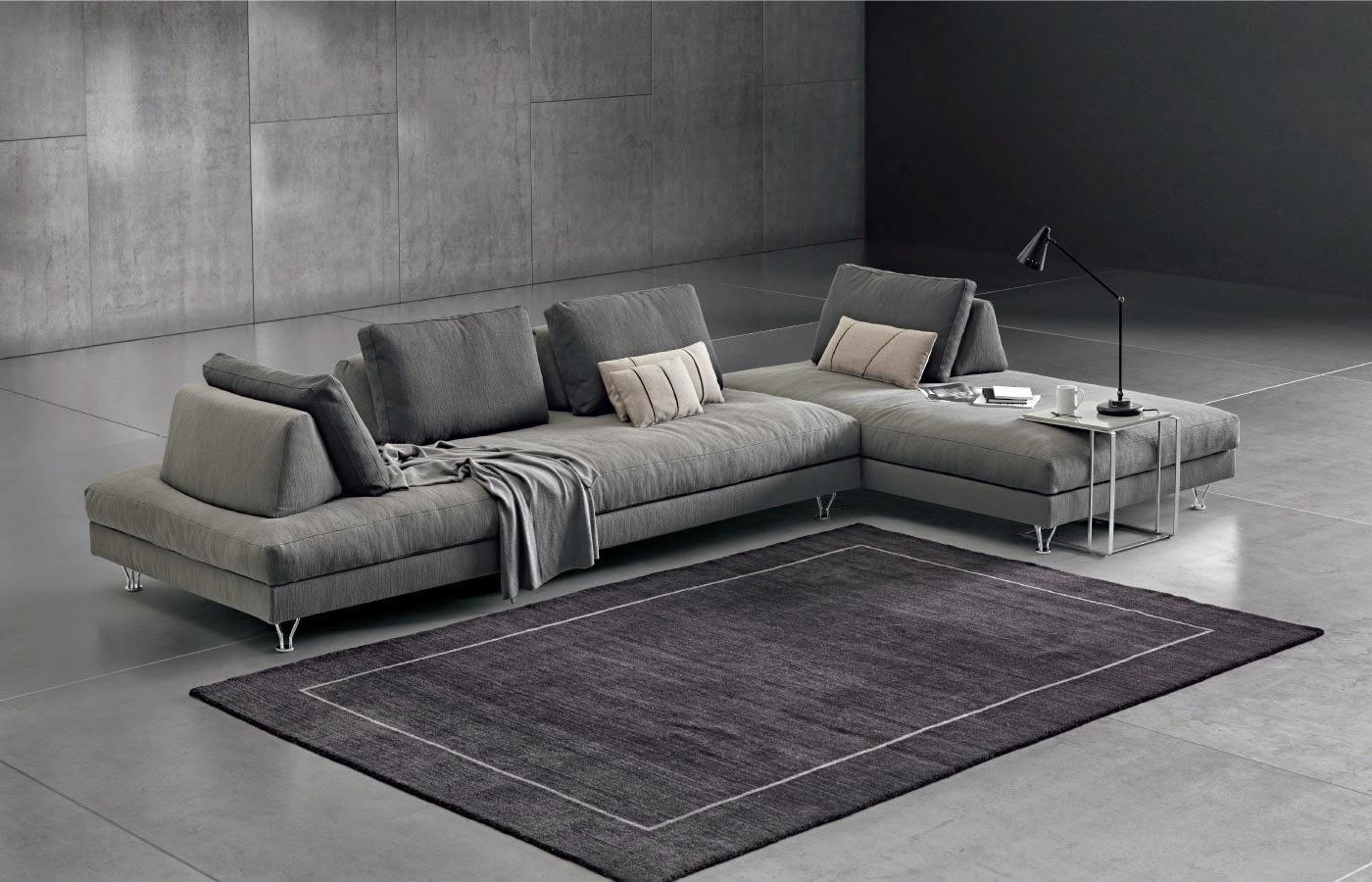 Il design al servizio della funzionalit per il divano for Divano a elle
