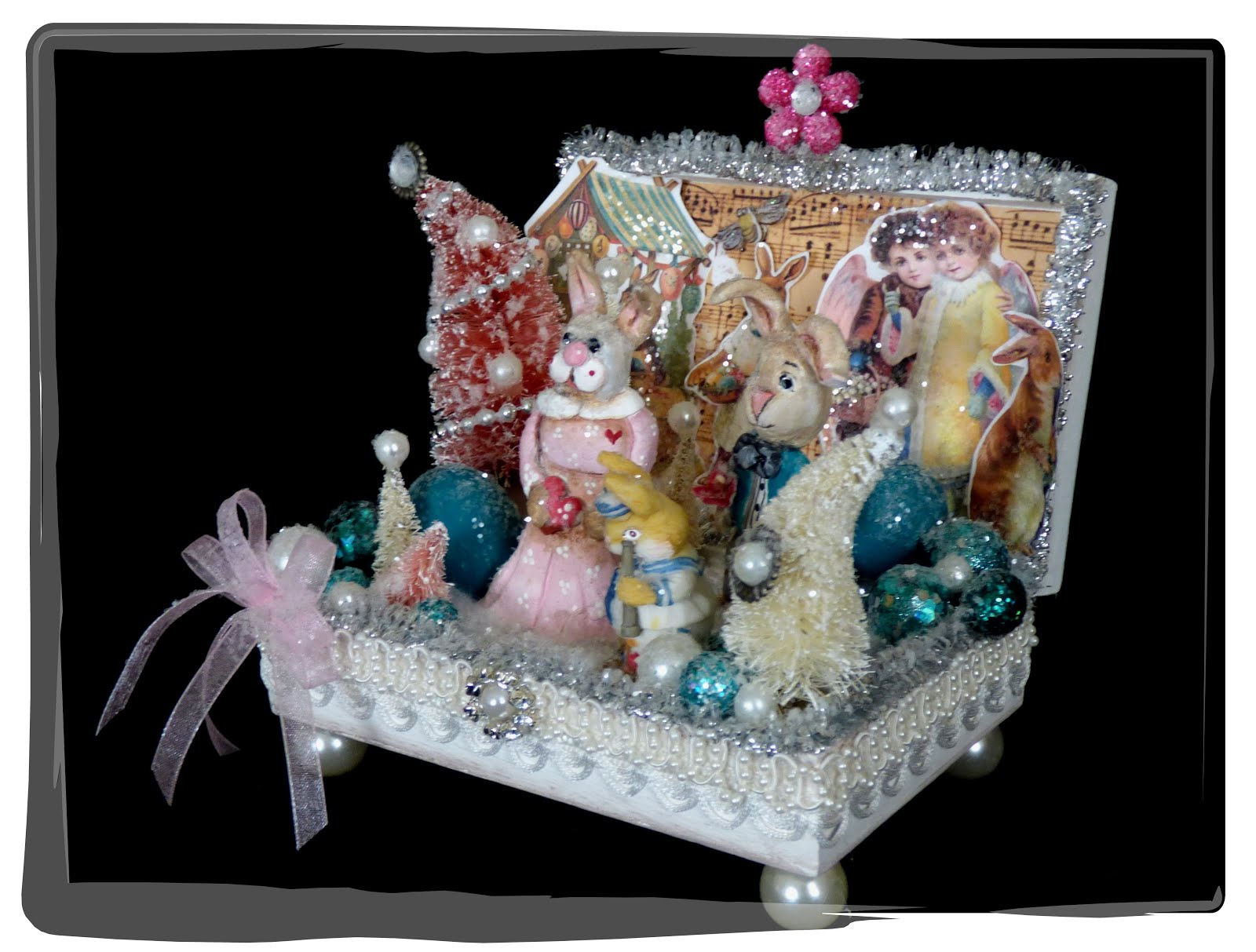 Bunny Sparkle Box