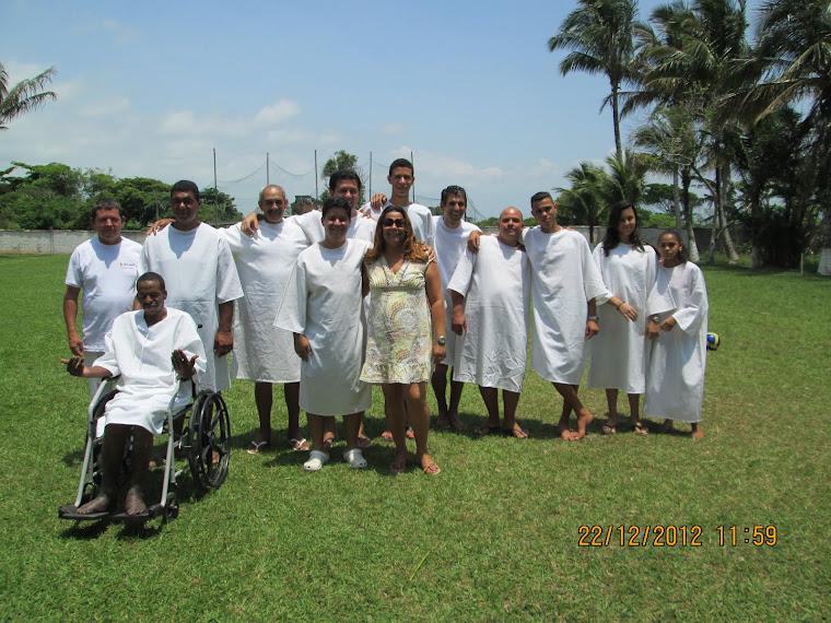 2º Batismo nas águas 2012