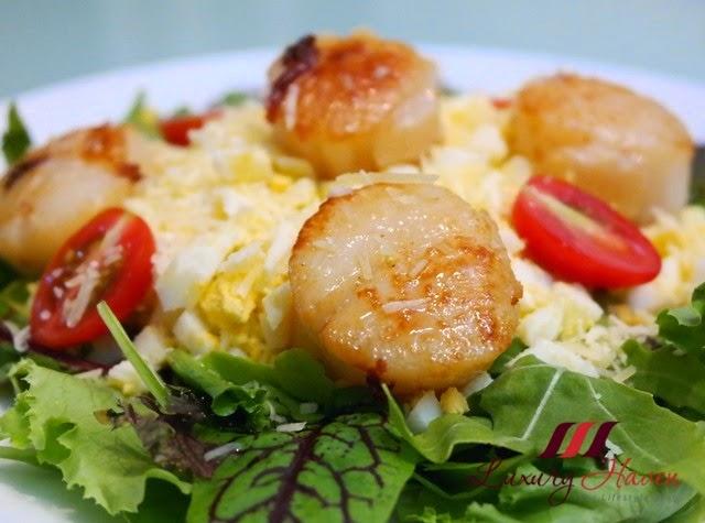 fukuyama frozen hokkaido scallops salad recipe idea