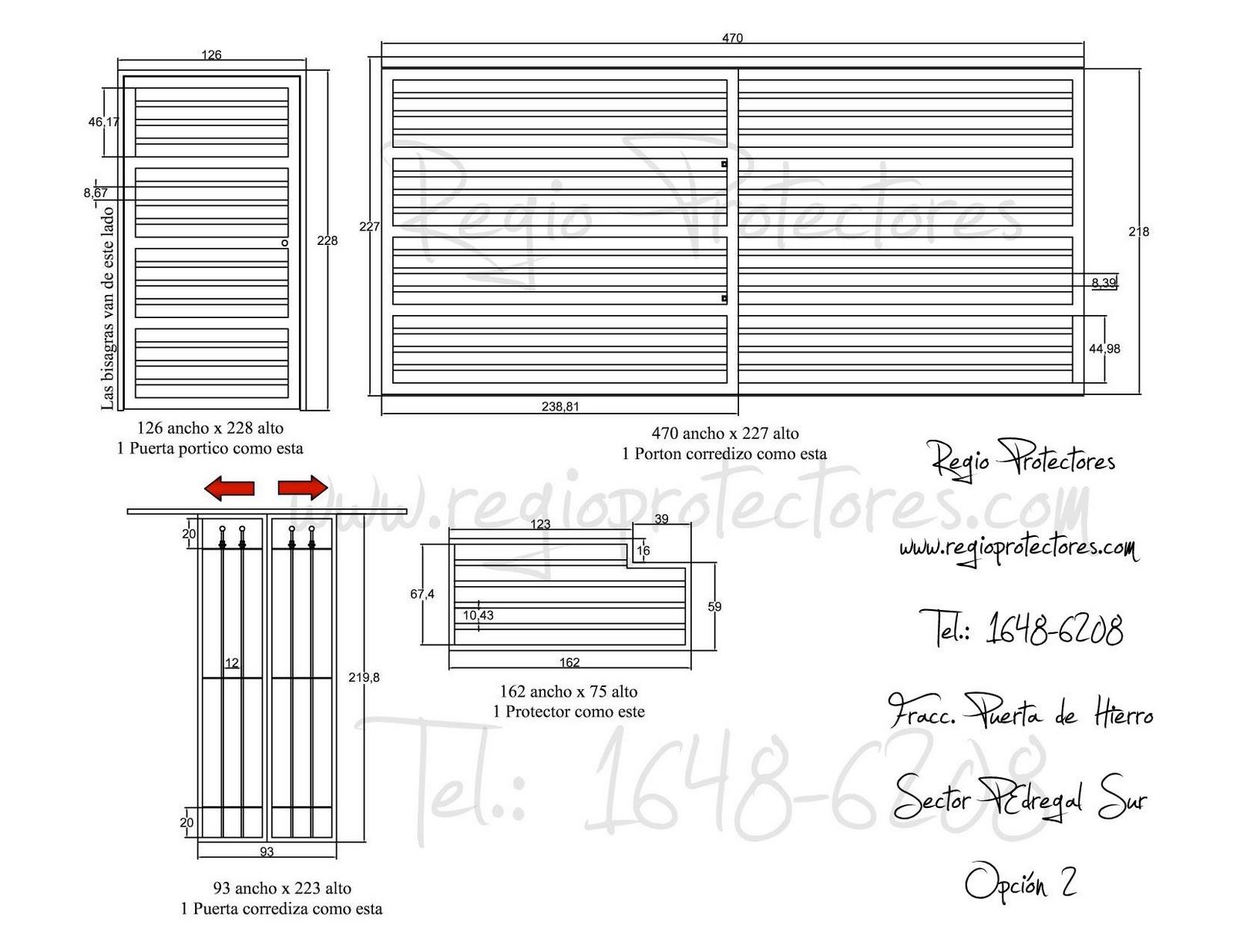 Regio Protectores Protectores para ventanas, Puertas principales