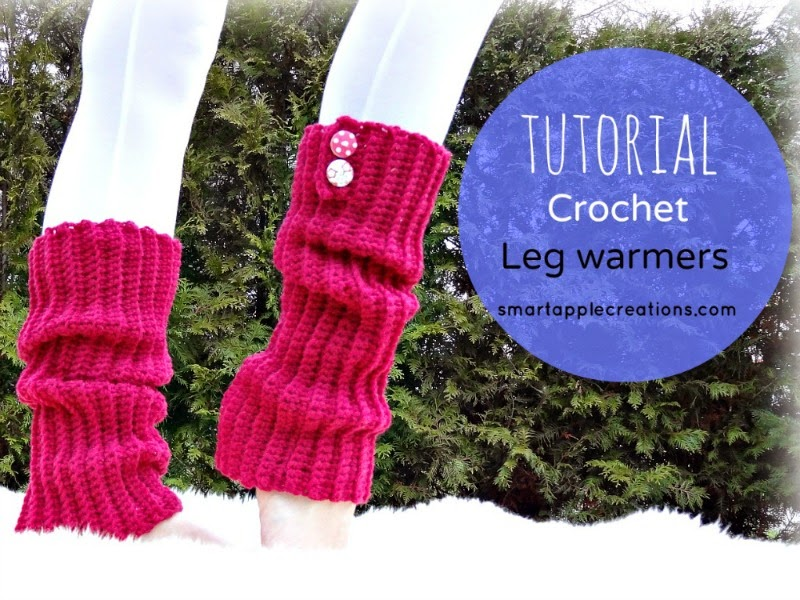 Crochet Patterns Leg Warmers : ... - amigurumi and crochet: Easy Ribbed Crochet Leg Warmers Tutorial