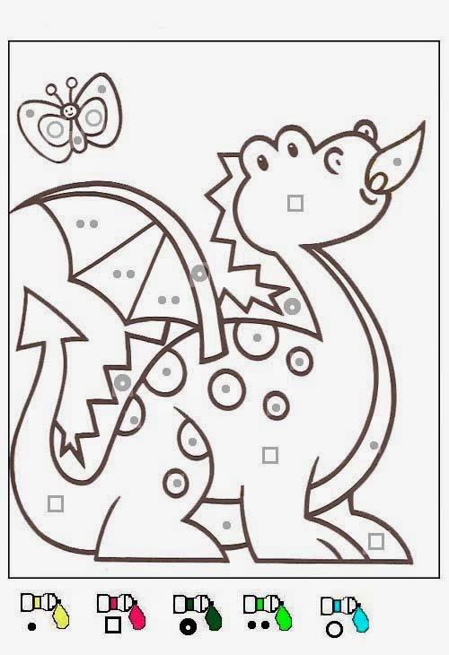 Coloriage À Imprimer De Dragon - Coloriage dragon à imprimer sur Tête à modeler