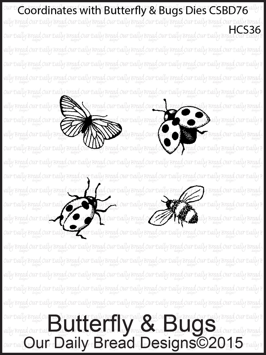 Stamps - Our Daily Bread Designs Custom Butterfly & Bugs