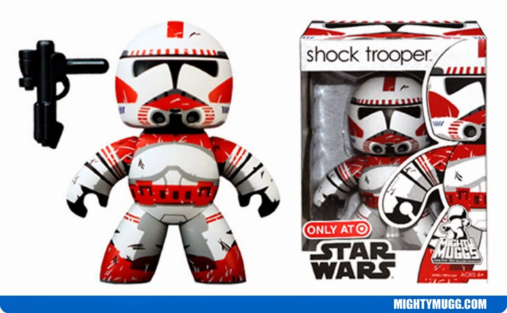 Shock Trooper Star Wars Mighty Muggs Exclusives