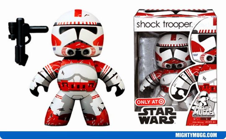 Shock Trooper Star Wars Mighty Muggs Exclusives