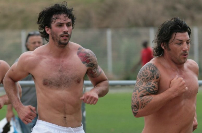 Clément Poitrenaud and Byron Kelleher • Rugby Union Players