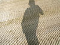 Shadows at the beach