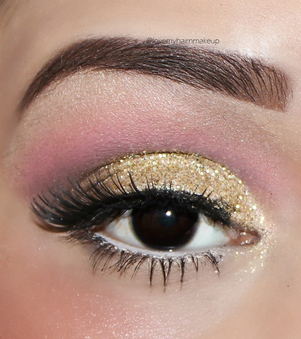 Eye makeup tutorial , glitter eye makeup tutorial