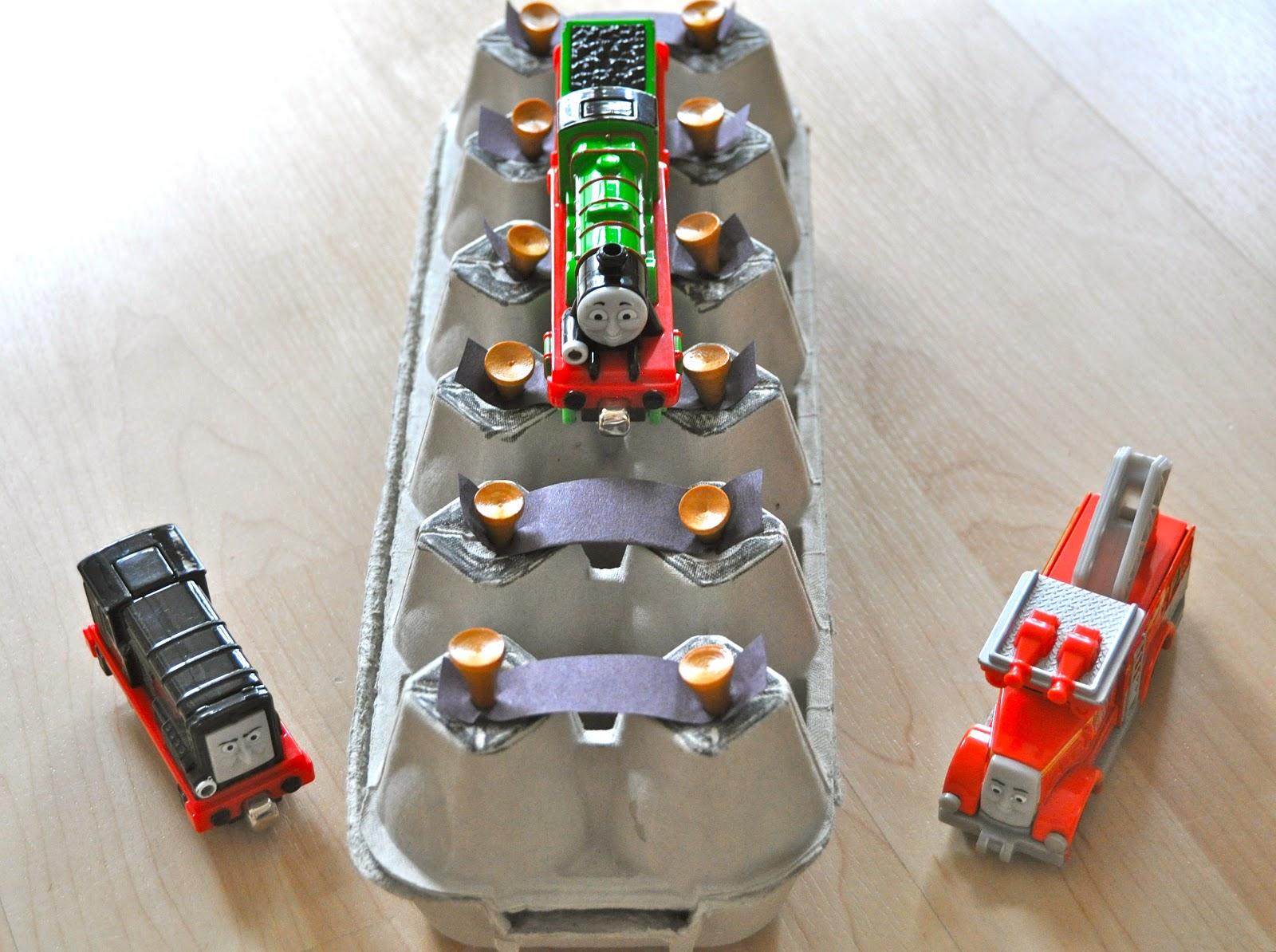 sorting sprinkles trains week for preschoolers part 2