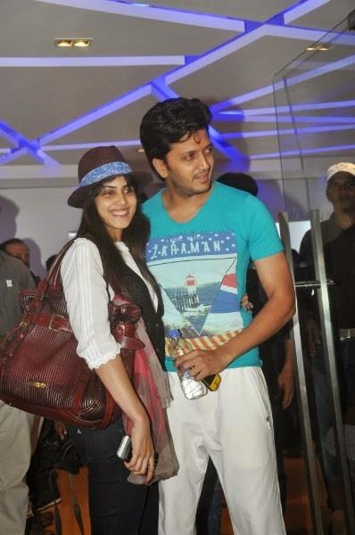 Rietesh Deshmukh and Genelia D'Souza