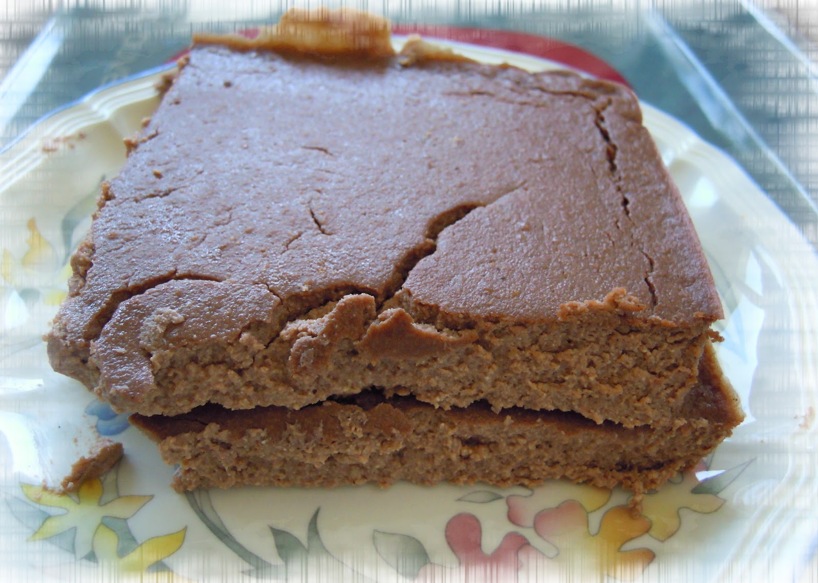 Cake au tofu soyeux dukan