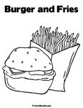 Spongebob Krabby Patties Coloring Pages