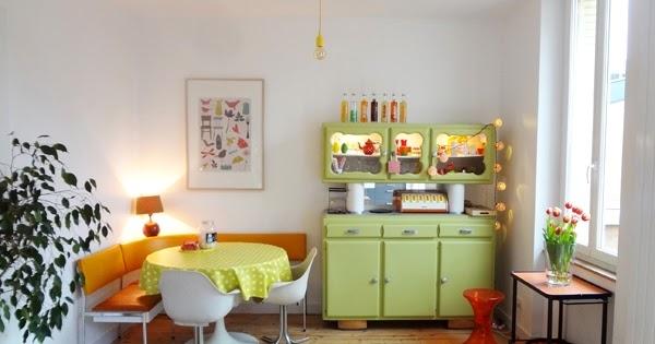 die wohngalerie 70er jahre k che revisited nach flohmarkt rausch. Black Bedroom Furniture Sets. Home Design Ideas