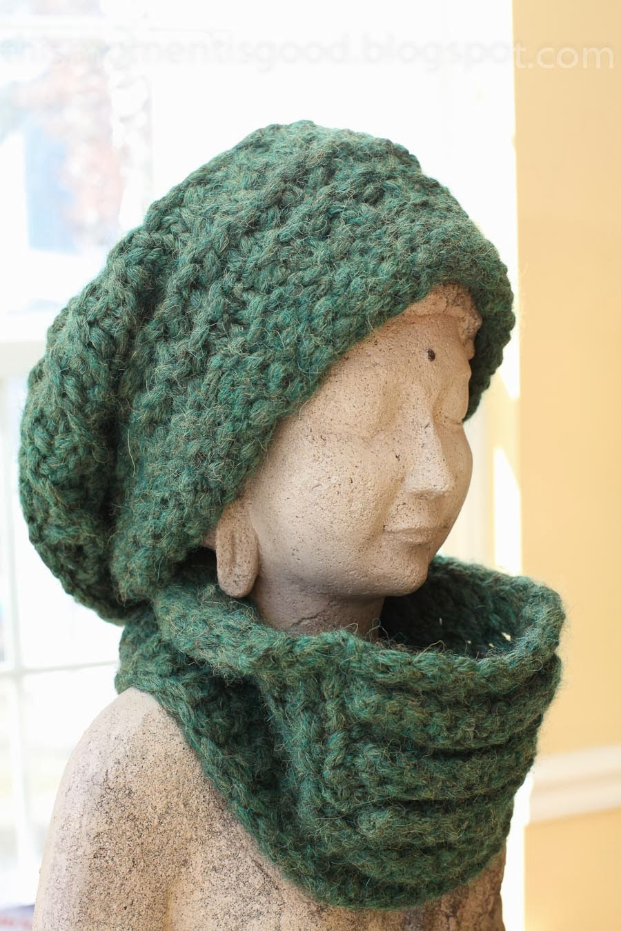Loom Knitting Lace Pattern : Loom Knitting by This Moment is Good!: LOOM KNIT LACE ...