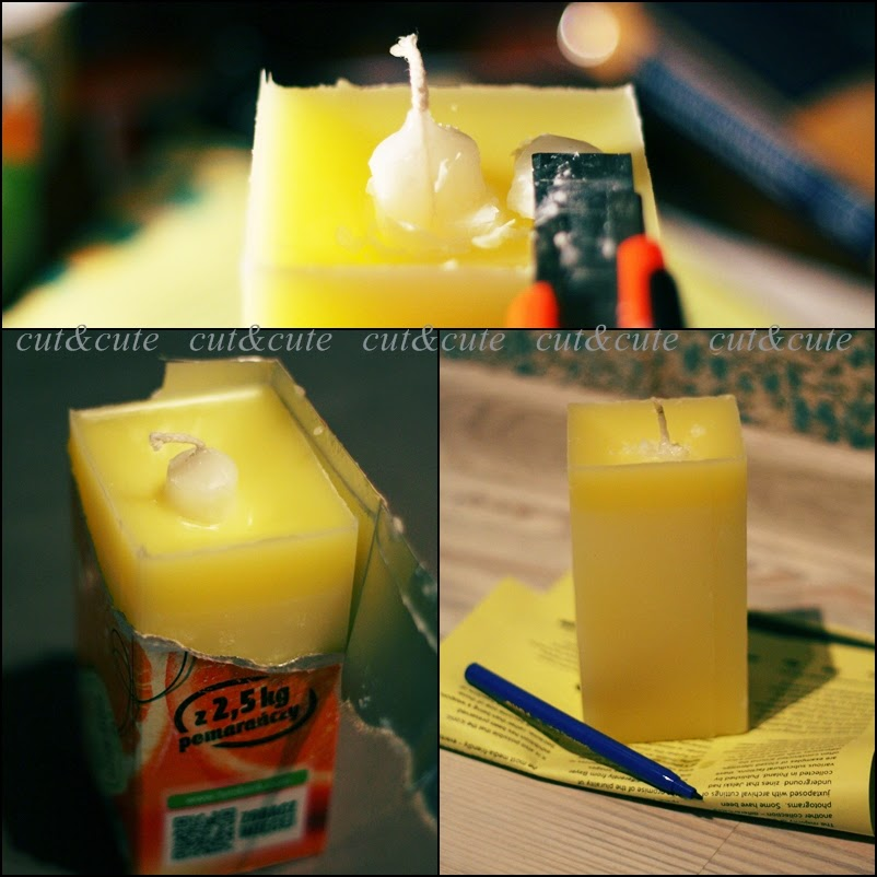Poradnik DIY świeczka
