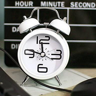 Despertador Diseño Clasico con Campana Doble