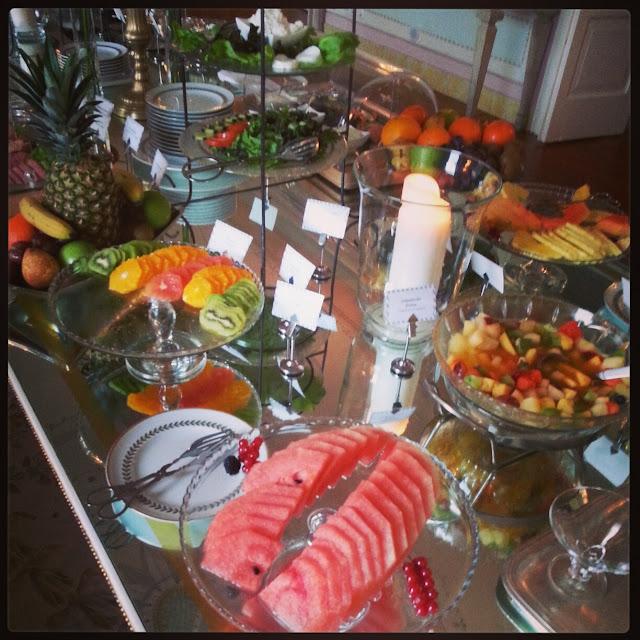 Breakfast at the Seteais Palace