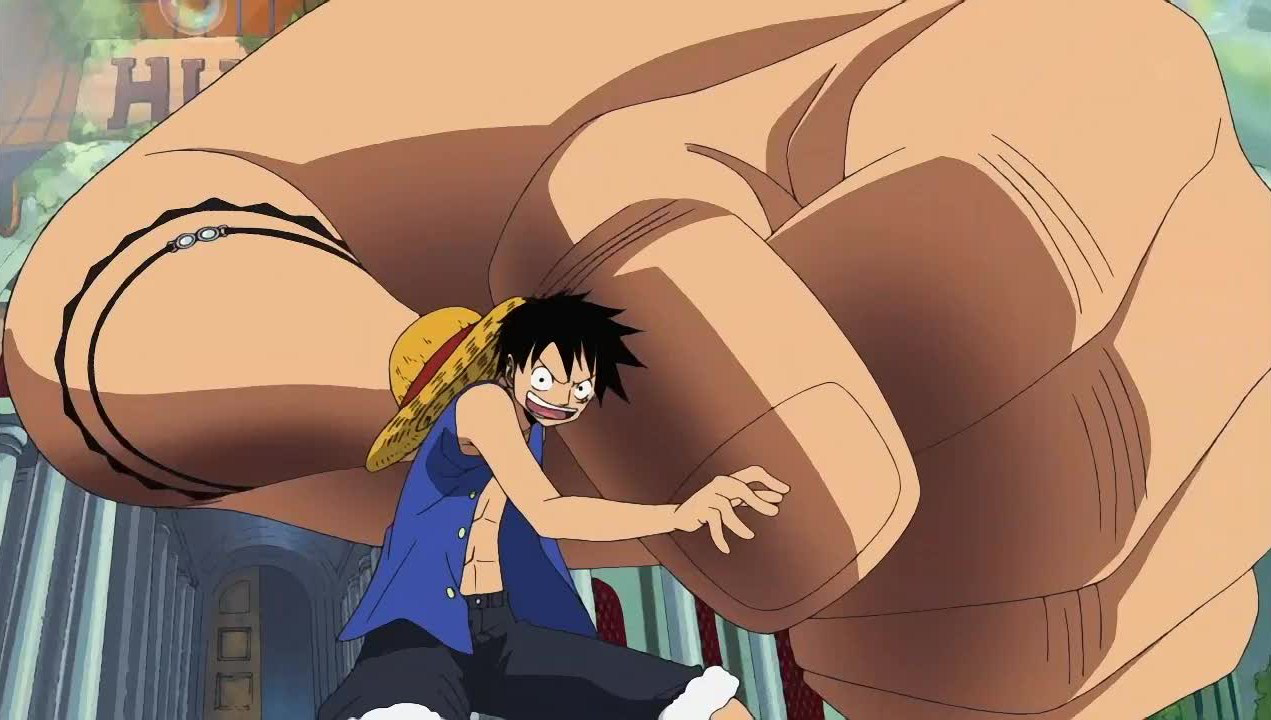 When did Luffy learn the second gear in One Piece? - Quora