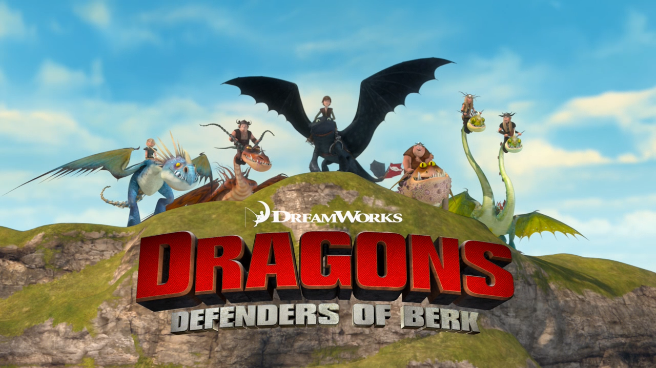 Dreamworks dragons defenders of berk hiccup