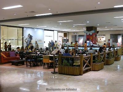 Creperia Mariposa: Loja do Shopping Barra