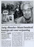 Rosalia Rens 1896-1999, had vijf zussen en één broer