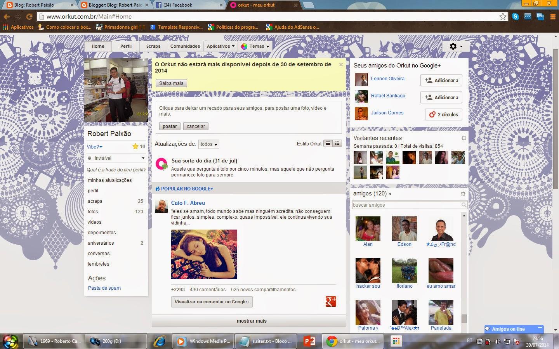 Como bloquear as fotos no orkut para ninguem ver 44