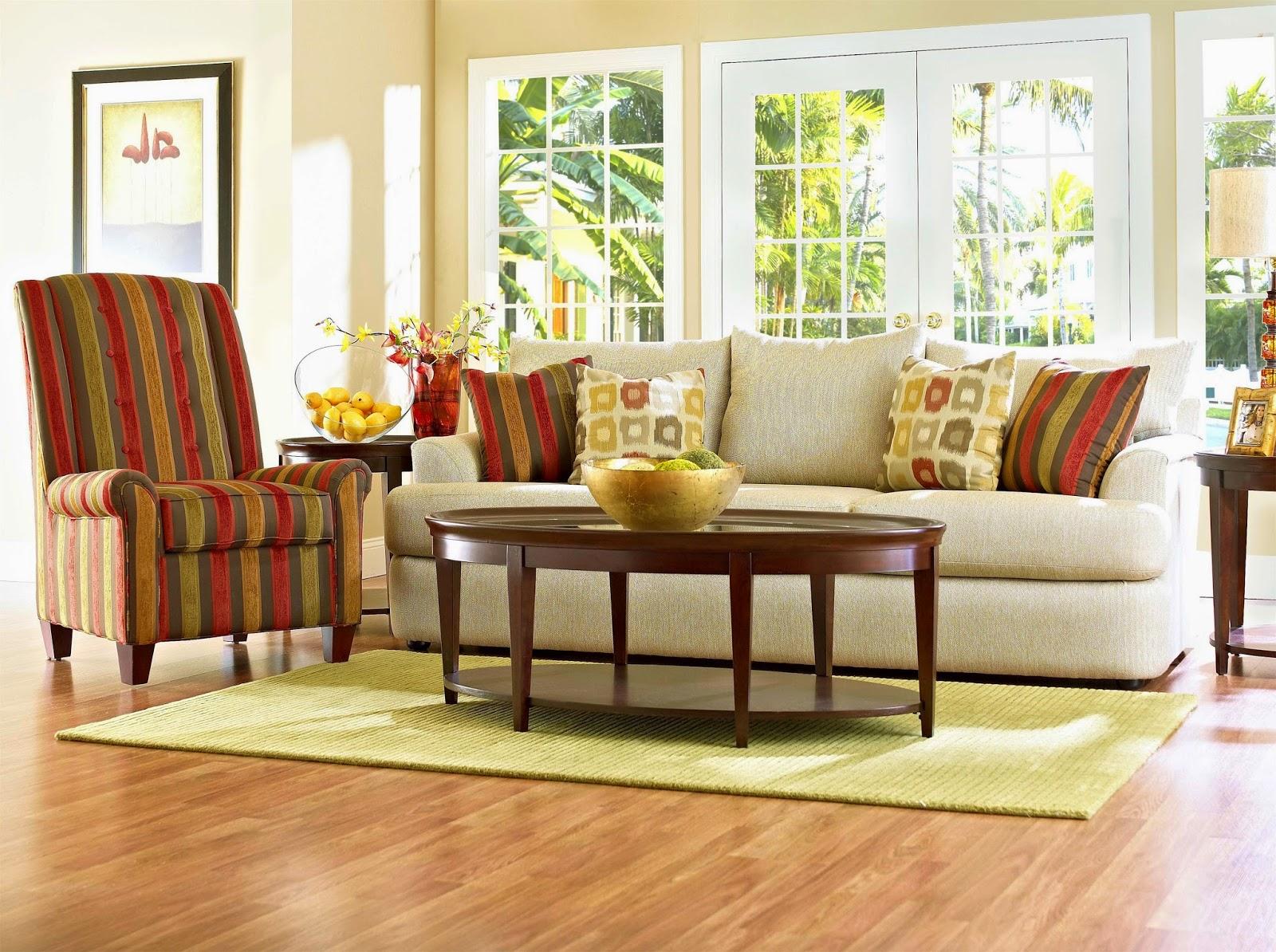 bentuk dan warna sofa