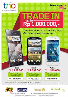 Promo Trade In Tukar Tambah Ponsel Lenovo