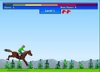 Jogo de Cavalo de Pular Obstáculos