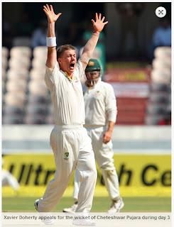 Xavier-Doherty-India-v-Australia-2nd-Test