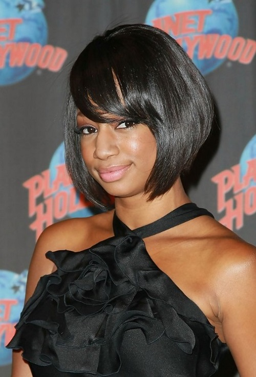 Hairstyles for African American Women with Bangs