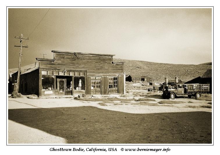 Ghosttown Bodie