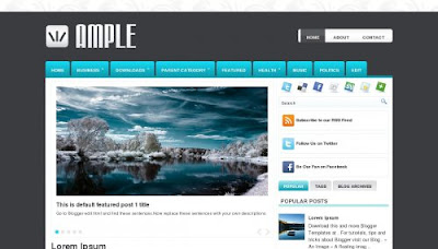 Ample Blogger Templates