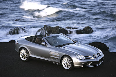 AUTO DEPORTIVO MERCEDES BENZ SLR MCLAREN CARRO VERSION ROADSTER