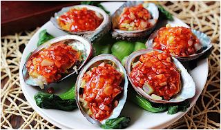 Bào ngư sốt ớt chua cay ngon tuyệt hảo