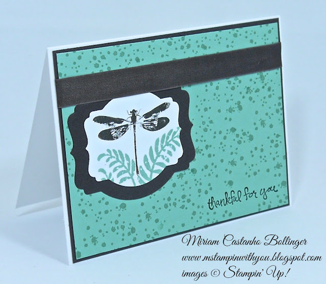 Miriam Castanho Bollinger, #mstampinwithyou, stampin up, demonstrator, dsc, thank you, awesomely artistic, good greetings stamp set, deco labels collections, big shot, su