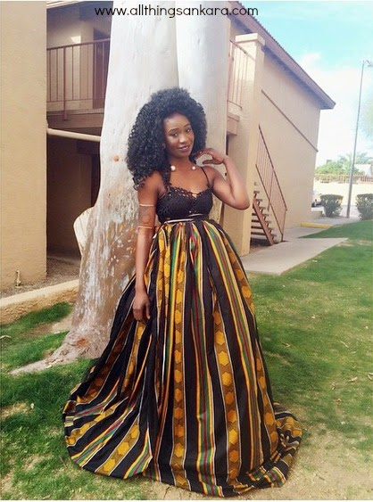 All things ankara gowns damey 39 s collections for Elegant african dresses for weddings