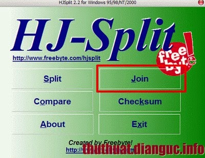 download HJ Split mới nhất